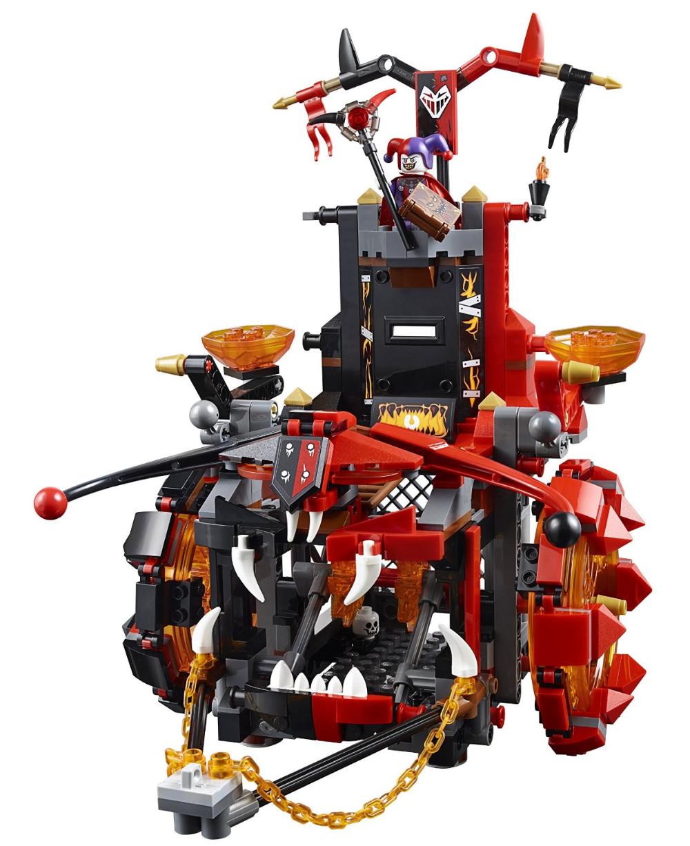 UKLego Nexo Knights Jestro's Evil Mobile Combination Marvel Building Blocks Kits Toys.