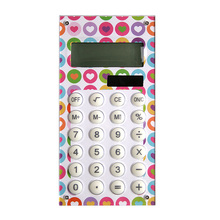 Licheng CR57 Acrylic Calculator, Fashion Plastic Calculator