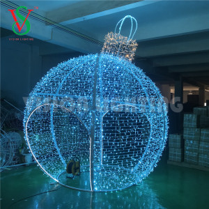 Giant Led Round Ball Christmas Light Supplieranufacturers At Alibaba