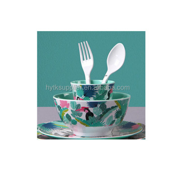 Clear decal melamine dinnerware set/Summer Entertaining mealmine picnic utensils set/western dinnerware sets  sc 1 st  Alibaba : summer dinnerware sets - pezcame.com
