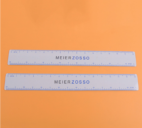 high quality plastic ruler custom clear acrylic scale ruler for school office