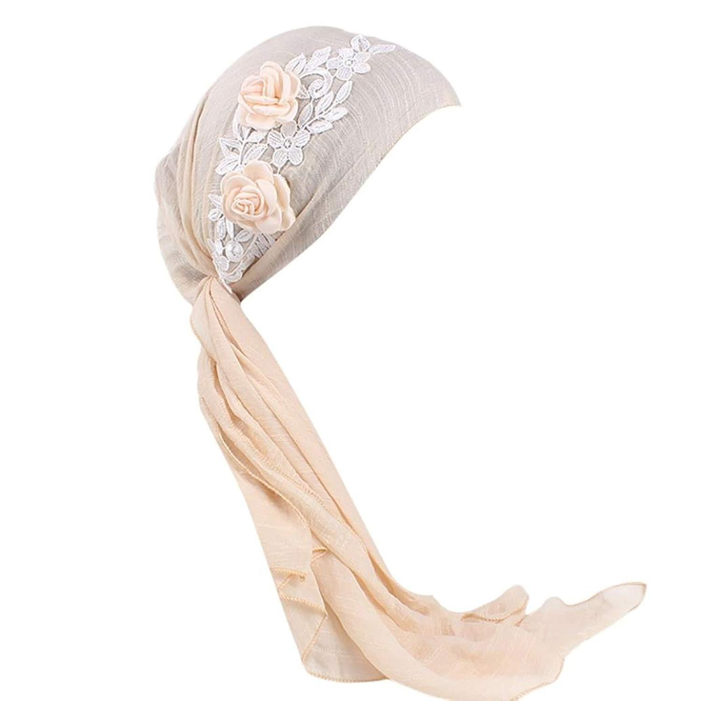 Owen Pullman Multifunctional Headwear Flamingo Pink Leaf Head Wrap Elastic Turban Sport Headband Outdoor Sweatband