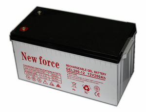 12v voltage deep cycle gel battery SMF 200ah solar battery
