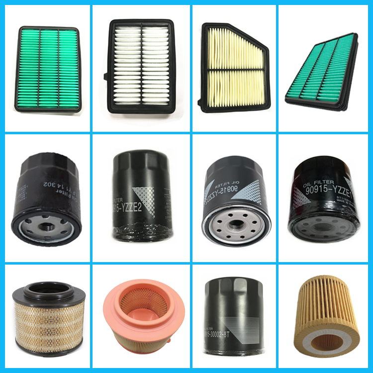Cheap Price Auto Parts OEM 17220-RNA-A00 Black Yellow Engine Air Filter Element