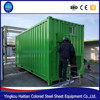 foldable container coffee shop/expandable container house/modular shipping container home for sale