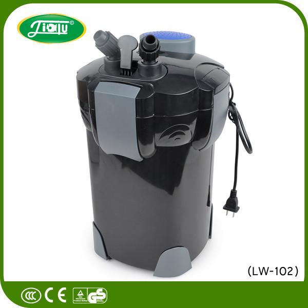 Lw-104b Black Pp Activated Carbon Uv Canister Aquarium Filter ...