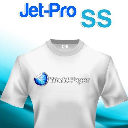 """Jet-Pro Soft Stretch Jetpro SS transfer paper 8.5""""x 11'' (10 sheets)"""