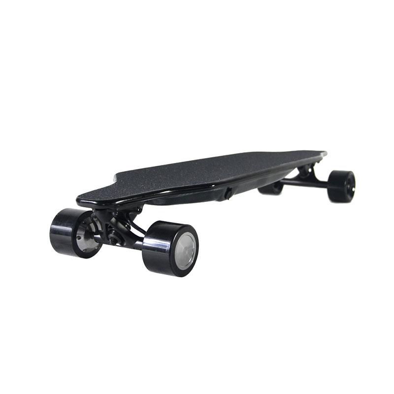 2018 Smart Balance Electric Longboard Skateboard Board, Red;orange;black