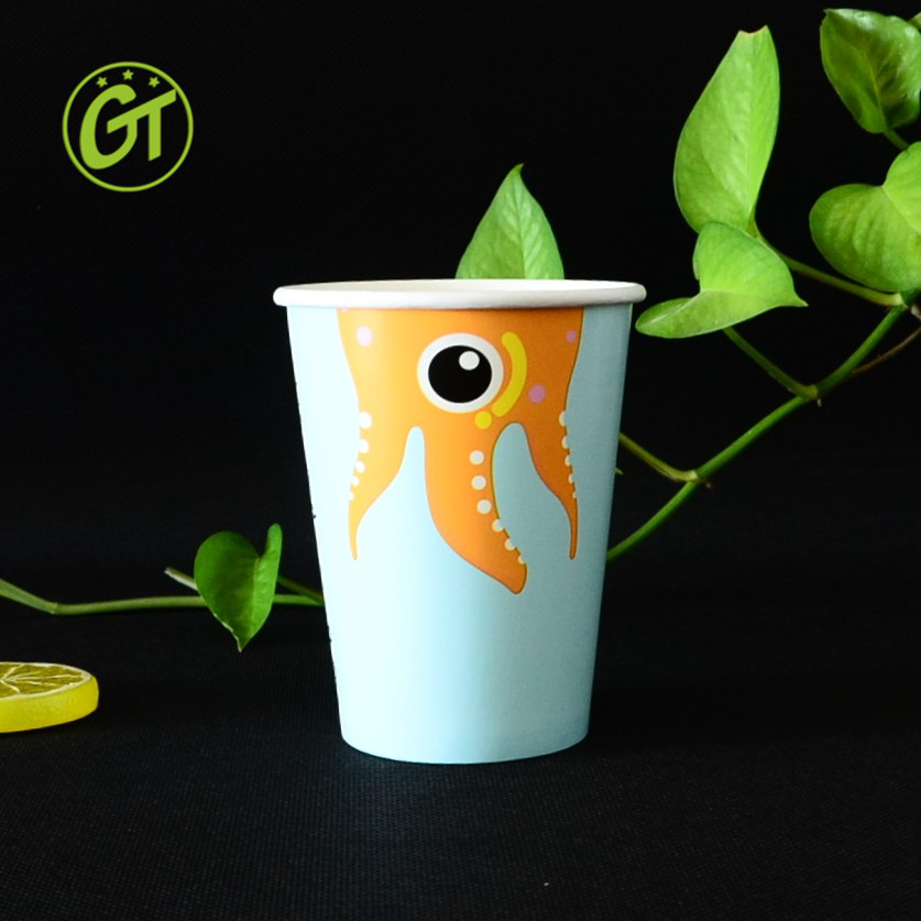 Best price Good Quality Paper Cups with Cute Cartoon Picture