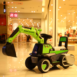 2019 new products children mini battery operated construction tractor ride on toys kids electric digger