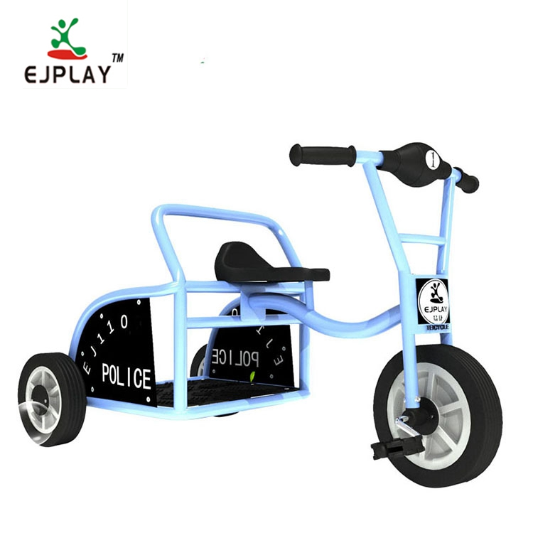 3 Wheel Bicycle Two Seat Ride On Toy Car Tricycle Taxi