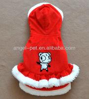 dog Christmas clothes dog apparel dog Christmas dress