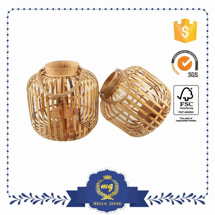 Wholesale Price Small Order Accept Lamp Made Of Bamboo