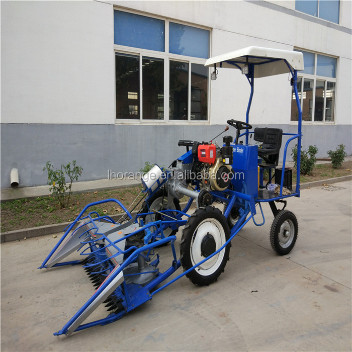 New model 4 wheel BCS wheat and rice reaper binder price