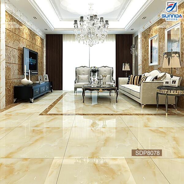 60x60 Low Price New Model Double Charge Flooring Marble Look Vitrified Ceramic Floor Tiles in Sri Lanka