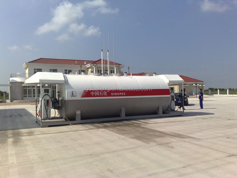 Mobile container fuel tank gas station manufacturer