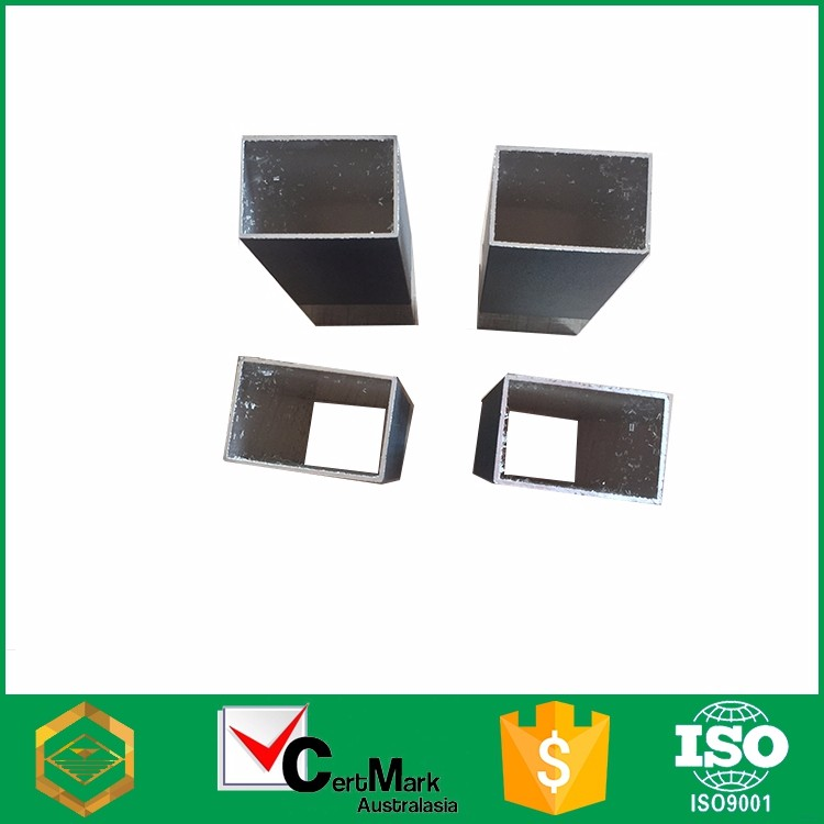 China 6063 Square Aluminum Extrusion For Led Tube