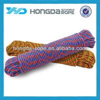 "The newest hot selling 3/8"" x 100' braided polypropylene for camping"