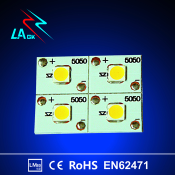 Hot sale CE ROHS LM-80 SMD LED5050 Sanan chips high efficiency