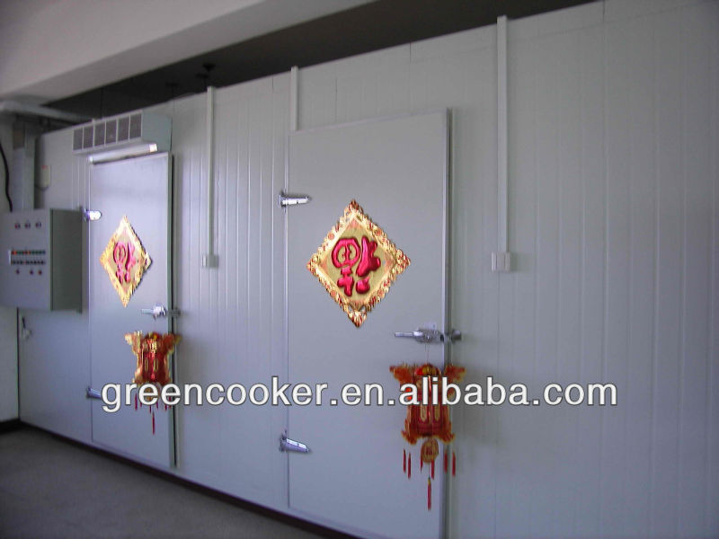 size customized cold room freezer/meat storge cold room