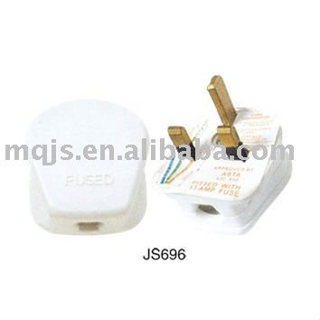 3 pin energy saving universal adaptor plug
