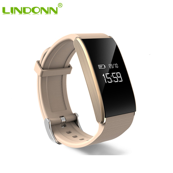 0 66 Inch Oled A58 Smart Watch Bracelet Wristband Ip67 Waterproof Bluetooth 4 Wireless Heart Rate Smarch For Android Ios