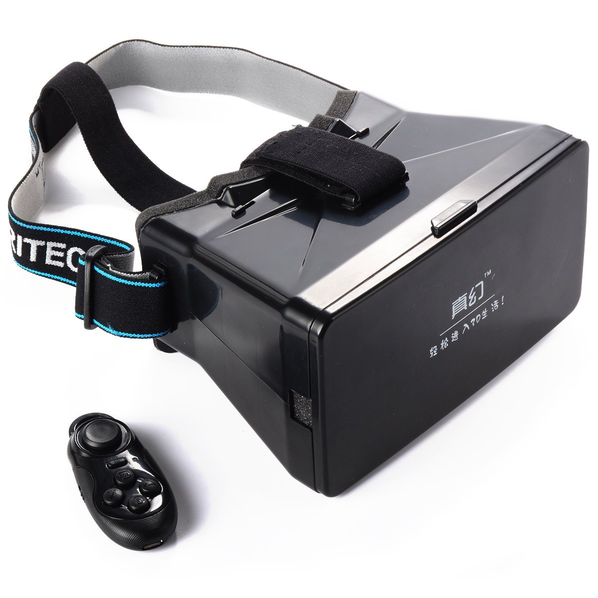 XCSOURCE Head Mount Plastic VR Virtual Reality Glasses For 3D Movies Games 3.5-6 Phone AC261