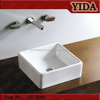 Keseluruhan Saniter Ruang Tamu Mebel R Mandi Keramik Seni Wash Basin