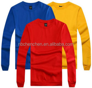 Long Sleeves blank t shirt china wholesale t-shirt
