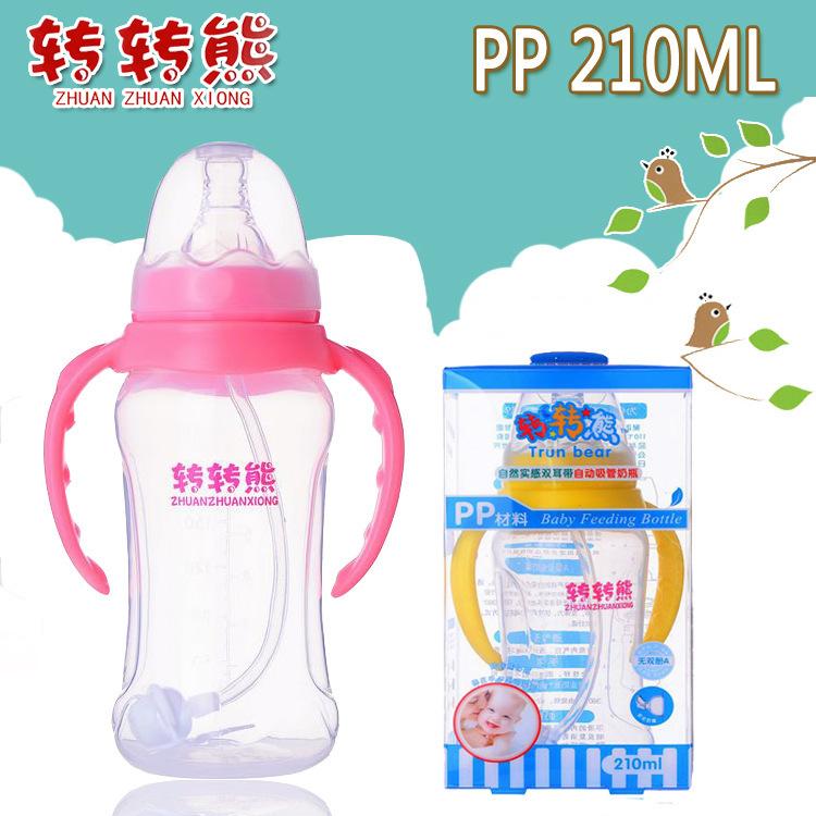 210 мл полипропилен материал младенцы кормление бутылка пипетки младенческой молоко бутылка новорожденный уход бутылка младенцы в бутылка подачи bpa