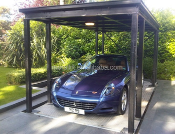 In Floor Car Lift Hydraulic Garage Underground Garage Cost Buy