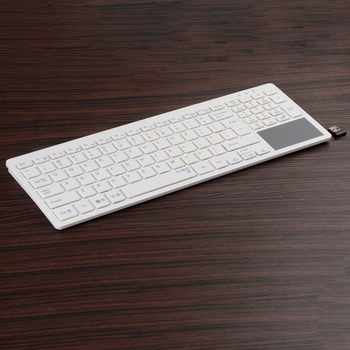 c959e094552 Mini wireless bluetooth keyboard with touchpad for android iPad/iPhone/Laptop  or Desktop C202