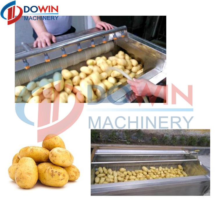 Vente chaude ligne de transformation de fruits l gumes machine de traitement de pommes de terre - Traitement pomme de terre ...