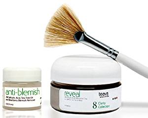 Intense Acne Treatment Face Mask and Spot Treatment Set - Bentonite Clay Face Mask for Acne - Tea Tree Acne Spot Treatment Gel - Clarifying Facial Mask - Reduce Oily Skin - Fade Acne Scars and Hyperpigmentation Caused By Acne - Heal Breakouts Fast - Prevent New Pimples From Forming - Effective