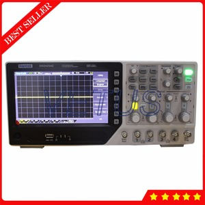 DSO4254C Digital Portable 4 Channel Oscilloscope with Arbitrary Waveform  Function Generator EXT DVM function