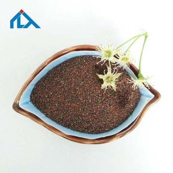 Wholesale red garnet 30 60 sand for abrasive blasting