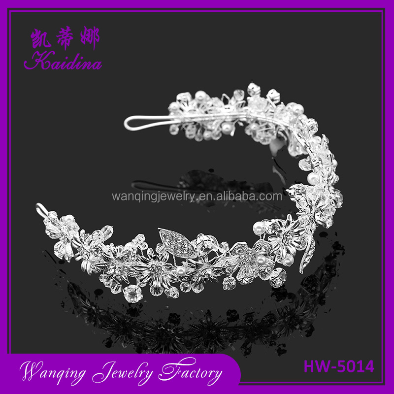 Top fashion wholesale hair accessories wedding hairband
