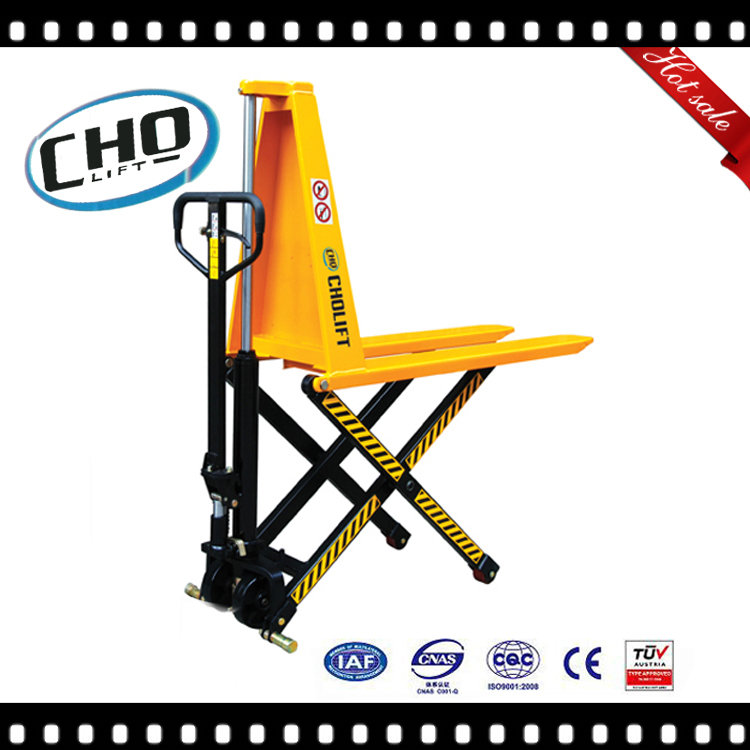 electric high lift pallet truck scissor lift