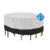outdoor Garden furniture table & chair set cover with high back