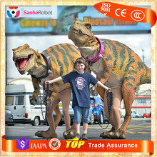 Funny Carnival Dinosaurs T rex Costumes for Animation Festivals
