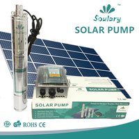 4 inch DC helical rotor solar submersible pumps