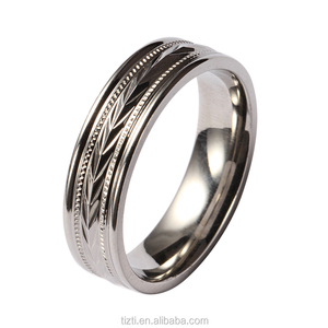 Bulk sale stainless steel rings wholesale jewelry rings for men