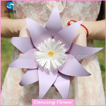 Manufacture China Paper Flower Jiangtuo Brand Different Size And