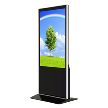55 นิ้ว 4 พัน Wifi Digital Signage Touch Screen Kiosk Totem จอแสดงผล Lcd