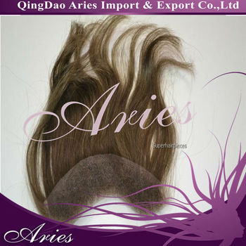 Natural Hairline Lace Frontal Hair Pieces