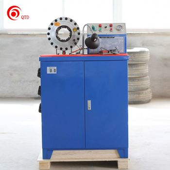"2"" Inside Diameter Rubber Hose Cutter Machine 2"" Manual Hose Crimping Machine"