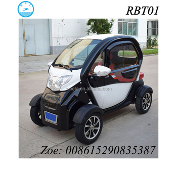 3 Seater Low Sd Automobile Street Legal Mini Electric Car