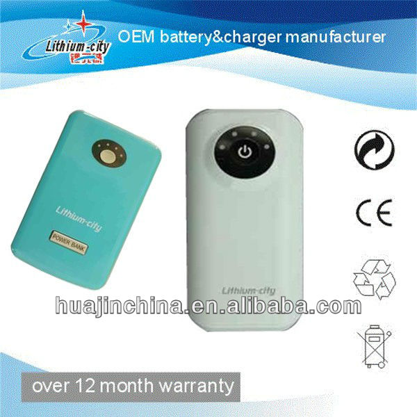 high capacity 5600mah power bank charger for mobile