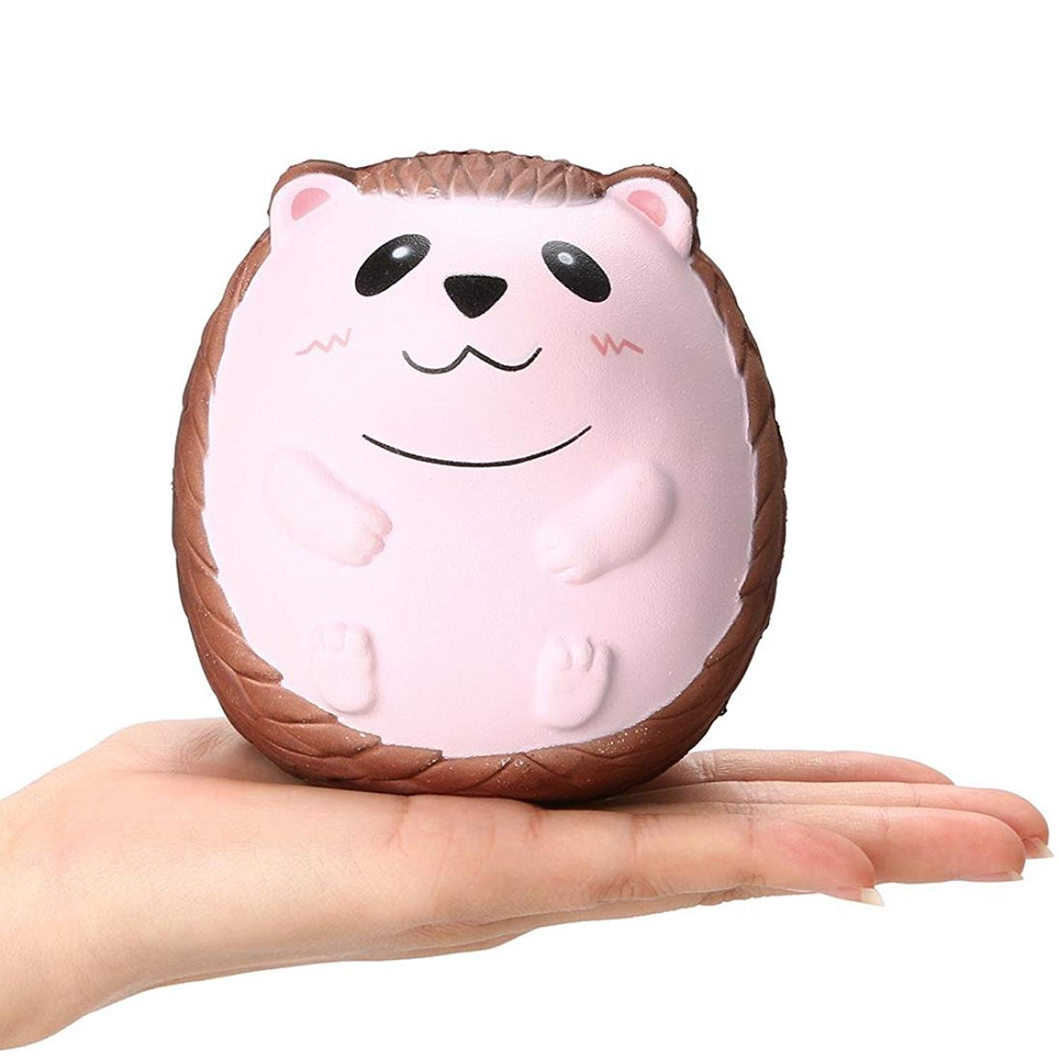 Malbaba Soft Stress Reliever Toys, Squishy Cute Hedgehog Scented Charm Slow Rising Squeeze Toys Cure Gifts for Kids Adults