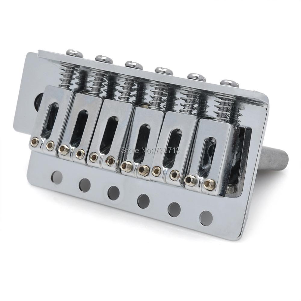 silver coated iron bridge saddle tremolo system for fender st electric guitar in guitar parts. Black Bedroom Furniture Sets. Home Design Ideas